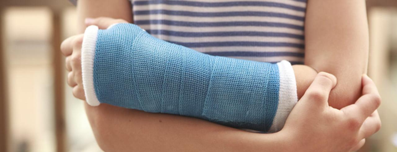 Brechen ohne schmerzen handgelenk Arm, Finger